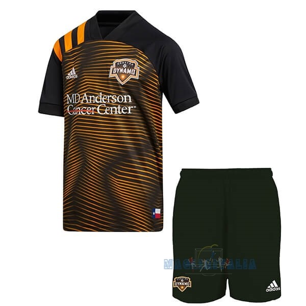Mgliette Calcio Away Set De Bambino Houston Dynamo 2020 2021 Arancione